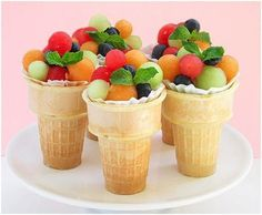 A healthy snack perfect for parties!