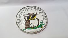Outdoor Thermometer Vintage Thermometer by RustyRelics1967 on Etsy
