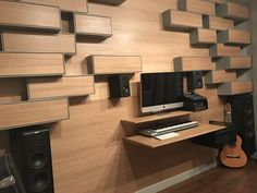 Home recording studio desk. Icon-Concept.pl
