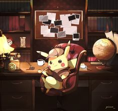 DETECTIVE PIKACHU. Still don't have the game, but it looks cool