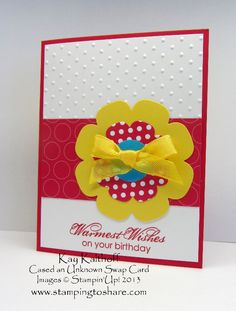Stamping to Share: 3/4 Blooming with Kindness Birthday Wishes