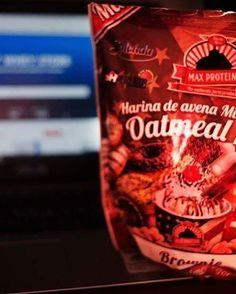 Aveia com sabor brownie para fazer deliciosas panquecas @mws.pt  #MyWheyStore #protein #aveia ( # @cabiamar)