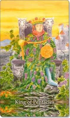 tarot king of pentacles - Google Search