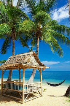 Living in paradise, island life Caribbean