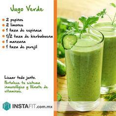 resera de jugo verde para diabetes