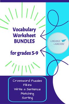 Search by grade level. Each bundle supplies enough worksheets for 10 weeks of daily assignments. Independent work packets, early finishers, extra credit or HW, all ready to go.