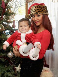 Snooki and Lorenzo...he's adorable and she's become a shockingly ok mom!