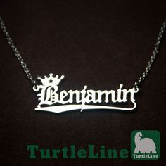 Personalized  Name Necklace by TurtleLineAmore on Etsy, $28.00