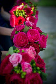 BLUSH floral design: Hot Pink and Green Seaside Wedding Sneak Peek! Wedding Wishes, Our Wedding, Wedding Ideas, Wedding Stuff, Wedding Pics, Wedding Things, Wedding Decor, Wedding Reception, Wedding Inspiration