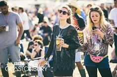 BBC Music - Glastonbury, 2015 - Fashion in the fields: staying glam at Glasto Secret Garden Parties, Keeping Up Appearances, Bestival, Sequin Skirt, Music, Skirts, Summer, Fun, Fashion
