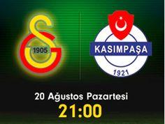 Galatasaray Kasımpaşa Maçı özeti golleri 20 Ağustos 2012