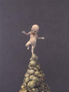 Michael Kvium: The Act Art Amour, Modern Art, Contemporary Art, Danse Macabre, Surreal Art, Love Art, Dark Art, Light In The Dark, Illustration Art