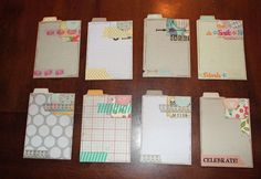 Michelle's Little Creations: Project Life Journal Cards