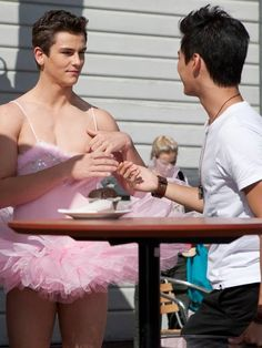 Dance Academy- love this episode!! Ben is hilarious!!! And cute!!