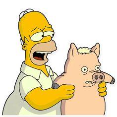 simpsons personagens Homer Simpson stickers set for Telegram Simpsons Drawings, Simpsons Art, Cartoon Drawings, Dessiner Homer Simpson, Homer Simpson Drawing, The Simpsons Tv Show, Simpsons Characters, Telegram Stickers, Cartoon Memes