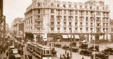 """Old Bucharest """"Little Paris"""" part 2 – Romania Dacia Old Pictures, Old Photos, Little Paris, Hotel Packages, Bucharest Romania, Paris Hotels, Beautiful Architecture, Time Travel, Nostalgia"""