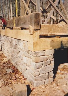 Log Dovetail Notch Jig Plans for building a log cabin. How To Build A Log Cabin, Small Log Cabin, Building A Cabin, Build Your House, Tiny House Cabin, Log Cabin Homes, Log Homes Exterior, Diy Cabin, Hunting Cabin