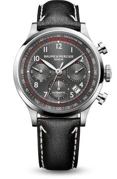 Discover the Capeland 10003 Men chronograph watch for men, designed by Baume et Mercier, Swiss Watch Maker.