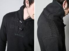 Mens Trend Alert: The Shawl Collar Sweater - Omiru: Style for All Shawl Collar Sweater, Hooded Sweater, Wool Cardigan, Men Sweater, Mens Trends, Mens Fashion, Fashion Edgy, How To Look Better, Casual Outfits