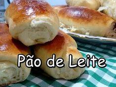 Como Fazer Pão de Leite bem Fofinho (por Fernando Couto) - YouTube