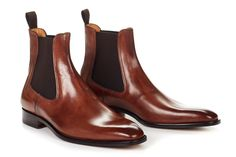 The Dean - Men's Italian Chelsea Boots | Paul Evans