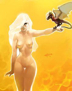 Daenerys Targaryen - Game of Thrones - Victor A. Minguez