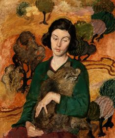 Margaret Clarke - Ann With Cat