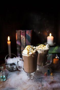 Pumpkin Butterbeer Hot Chocolate (VIDEO).