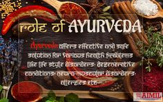 #Ayurveda  offers effective and safe solution for vicious #HealthProblems  like lifestyle disorders, degenerative conditiond etc .   #HealthyLiving   #HerbalLiving   #Herbalism   #HerbalLife   #AyurvedaTreatment   #AyurvedaLiving