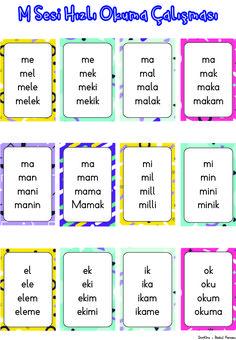Turkish Language, Primary School, Activities For Kids, Alphabet, Homeschool, Bullet Journal, Education, Math, Reading