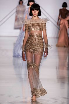 Ralph & Russo  Haute Couture Spring 2017   golden | ZsaZsa Bellagio - Like No Other
