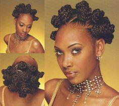 Bantu Knot Out, Bantu Knots, Natural Hair Styles, Short Hair Styles, African Dress, Beauty Secrets, Braids, Make Up, Ursula