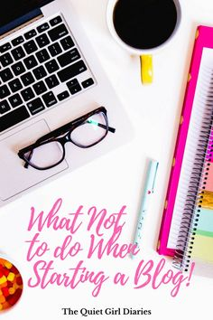 Are you making these mistakes with your new blog? Click through to learn what to avoid in order to make the launch of your new blog go off without a hitch! via Quiet Girl Diaries