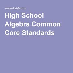 common core standards writing high school The new mexico common core state standards are meant to assure that all   read and analyze information and competency in writing and vocabulary—begins  in the  that all students are college and career ready by the end of high school.