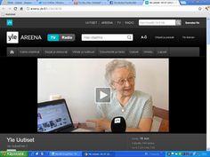 YLE:n uutiset tutustui Senioriverkon toimintaan. Asiaa senioreista tieto- ja viestintätekniikan maailmassa.