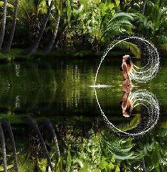 Beautiful ♥ Reflection Picture.   Most Beautiful Pages