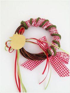Christmas Home, Christmas Crafts, Christmas Decorations, Xmas, Christmas Ornaments, Holiday Decor, Diy Wreath, Wreaths, Lucky Charm