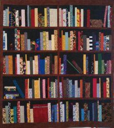 My version of the Bookshelf Quilt
