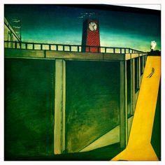 Gare Montparnasse (Giorgio de Chirico) Italian Painters, Italian Artist, 20th Century Painters, Max Ernst, Magritte, Art Design, Moma, Figure Painting, Oeuvre D'art