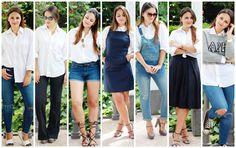 7 ways to wear a white shirt