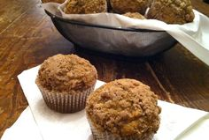 Butternut Squash Muffins with Walnut Streusel Topping