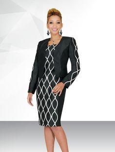 Style #784472 Pc Dress & JacketColor: Black/Off-WhiteSize: 8-20