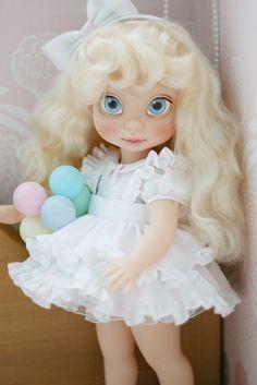 https://flic.kr/p/q9eecy | Nana | Disney Animators' Collection Doll, Cinderella (Repainted)
