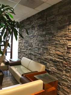 Kenai Stacked Stone Accent Wall Patterns Named after its inspiration Kenai, Alaska this panel is quickly becoming one of our most popular. Faux Stone Siding, Faux Stone Walls, Stacked Stone Walls, Stone Accent Walls, Stacked Stones, Stone Interior, Home Interior Design, Interior Paint, Luxury Interior