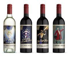 #lindseybakerdesign wine packaging