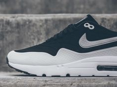 Nike Air Max 1 Ultra Moire - White - Black - SneakerNews.com