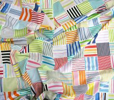 A Quilt in Stripes