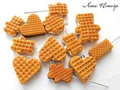 tuto Wafers from polymer clay.