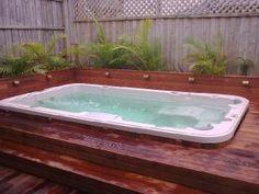 swim spa in deck Jacuzzi, Gazebo, Photo Galleries, Spa, Swimming, Australia, World, Gallery, Outdoor Decor