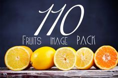 130 Fruits image PACK by Victoria Rusyn Shophttps: on Creative Market